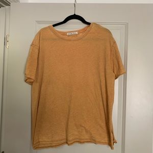 Free People We The Free Small Mustard T-shirt